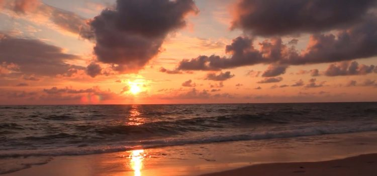 Relaxing music ❤️ sleep deep sea  Sunset ☀️ and the sounds of the sea  Dreamy music.